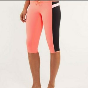 Lululemon heat it up crop leggings